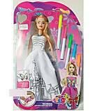Кукла Модница с маркерами, 6668C, toys