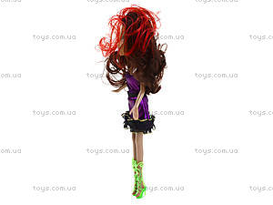 Детская кукла Monster Girl с зонтиком, 664A664B, купить