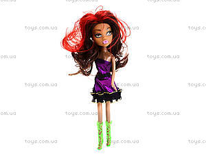 Детская кукла Monster Girl с зонтиком, 664A664B, фото