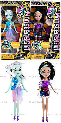 Кукла Monster Girl с расческой, HX6102-1