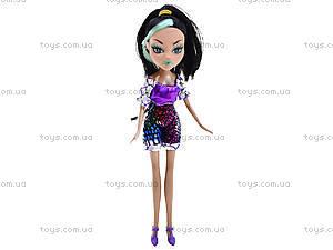 Кукла Monster Girl с расческой, HX6102-1, игрушки