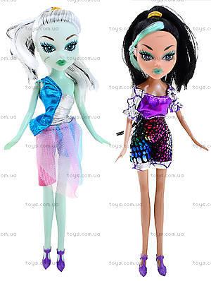 Кукла Monster Girl с расческой, HX6102-1, магазин игрушек