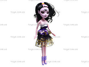 Детская кукла Monster Girl с аксессуарами, 5004-7, отзывы