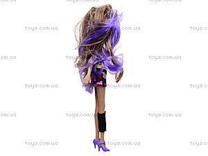 Кукла Monster Girl с модными аксессуарами, HX6103-1, магазин игрушек