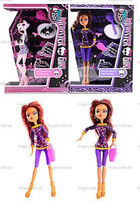 Детская кукла Monster Girl с расческой, YF1001-1003
