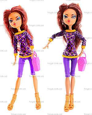 Детская кукла Monster Girl с расческой, YF1001-1003, отзывы