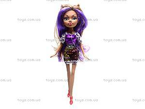 Кукла Monster Girl с нарядом, HX6106C, детские игрушки