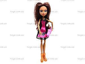 Кукла детская Monster Girl с аксессуарами, YF1002S3S, игрушки