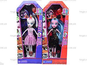 Детская кукла Monster Girl «Ведьмочка», 89032A, фото
