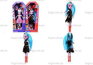 Детская кукла Monster Girl «Ведьмочка», 89032A