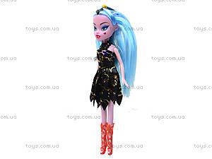 Детская кукла Monster Girl «Ведьмочка», 89032A, игрушки