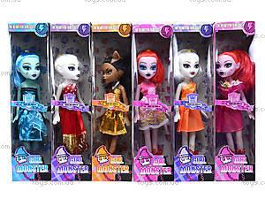 Игрушечная кукла Monster Girl для девочек, 1244, фото