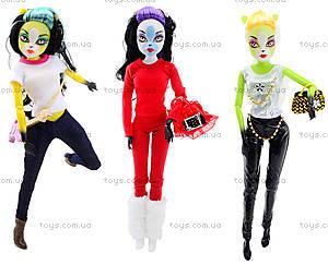 Детская кукла Monster Girl «Кошка» с аксессуарами, YY2016-1-6