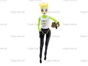 Детская кукла Monster Girl «Кошка» с аксессуарами, YY2016-1-6, магазин игрушек