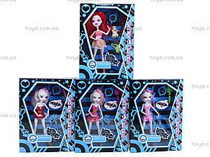 Кукла Monster Girl с аксессуарами, 668C+/E+