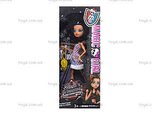 Кукла Monster Girl с аксессуарами,  для детей, 206-10A11A12A, игрушки