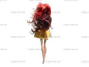 Детская кукла типа Monster High с аксессуарами, 1065