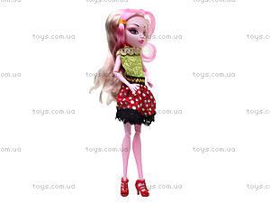 Игрушечная кукла Monster High с аксессуарами, 112-456, купить
