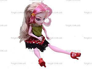 Игрушечная кукла Monster High с аксессуарами, 112-456, фото