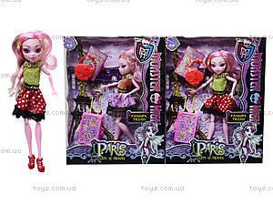 Игрушечная кукла Monster High с аксессуарами, 112-456, отзывы