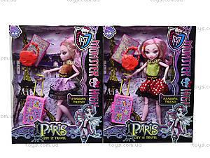 Игрушечная кукла Monster High с аксессуарами, 112-456