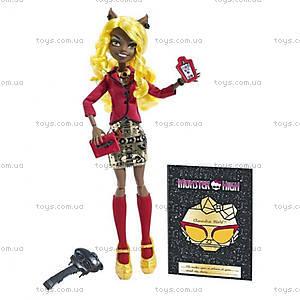 Кукла Monster High «Хантливуд» из серии «Страх, камера, мотор», BLX22, цена