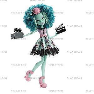Кукла Monster High из мультфильма «Страх, камера, мотор», BLX17, купить