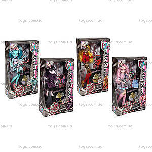 Кукла Monster High из мультфильма «Страх, камера, мотор», BLX17, фото