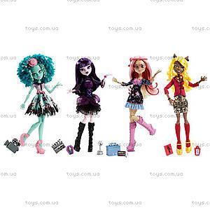 Кукла Monster High из мультфильма «Страх, камера, мотор», BLX17