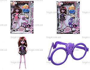 Кукла Monster High с аксессуарами в коробке, RY299C