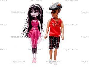 Кукла «Monster High» с аксессуарами, 540A, детские игрушки