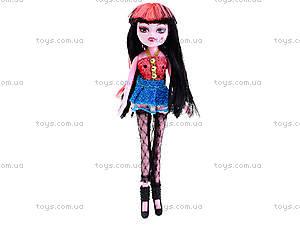 Детская кукла «Монстр Хай» с аксеcсуарами, 0801, игрушки