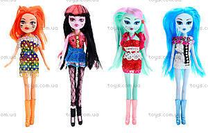 Детская кукла «Монстр Хай» с аксеcсуарами, 0801, toys.com.ua