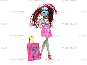Кукла Monster High с чемоданом, 2022-B