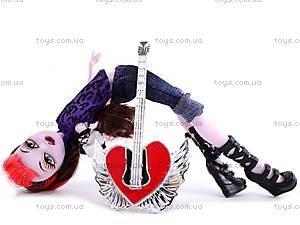 Кукла Monster High с гитарой, 93052, игрушки