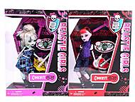 Кукла Monster High с гитарой, 93052, фото