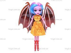 Кукла Monster High с крыльями, MG-8A, игрушки