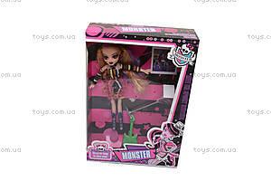 Кукла Monster High в готическом стиле, М1238D, купить