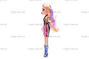 Кукла Monster High в готическом стиле, М1238D, отзывы