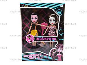 Кукла Monster High, в стиле «Готика» , 6623, игрушки