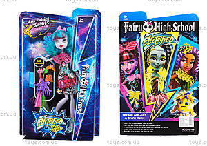 Monster High Electrified с расческой, DH2169