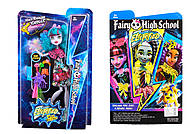 Monster High Electrified с расческой, DH2169, фото