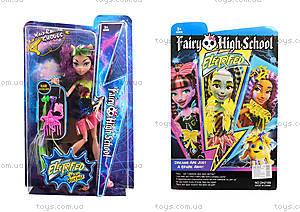 Monster High Electrified с расческой, DH2169, фото