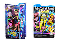 Monster High Electrified с расческой, DH2169, цена