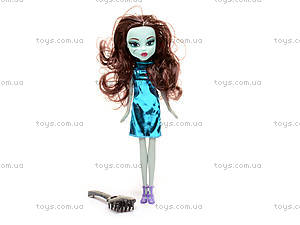 Кукла Monster High,с расческой, HP1031795