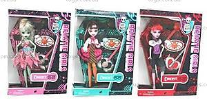 Кукла «Монстер Хай» с аксуссуарами, 93052