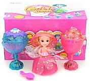 Кукла-мороженое с ароматом Cupcake Surprise музыкальная, LM2389