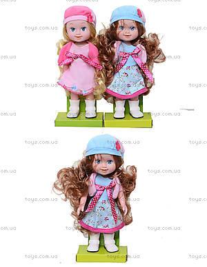Музыкальная кукла, несколько видов, 12088