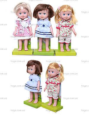 Музыкальная кукла для маленьких принцесс , 12029
