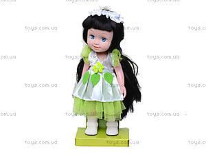 Кукла для девочек, музыкальная, 12028, купить